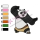 Kung Fu Panda Embroidery Design 07